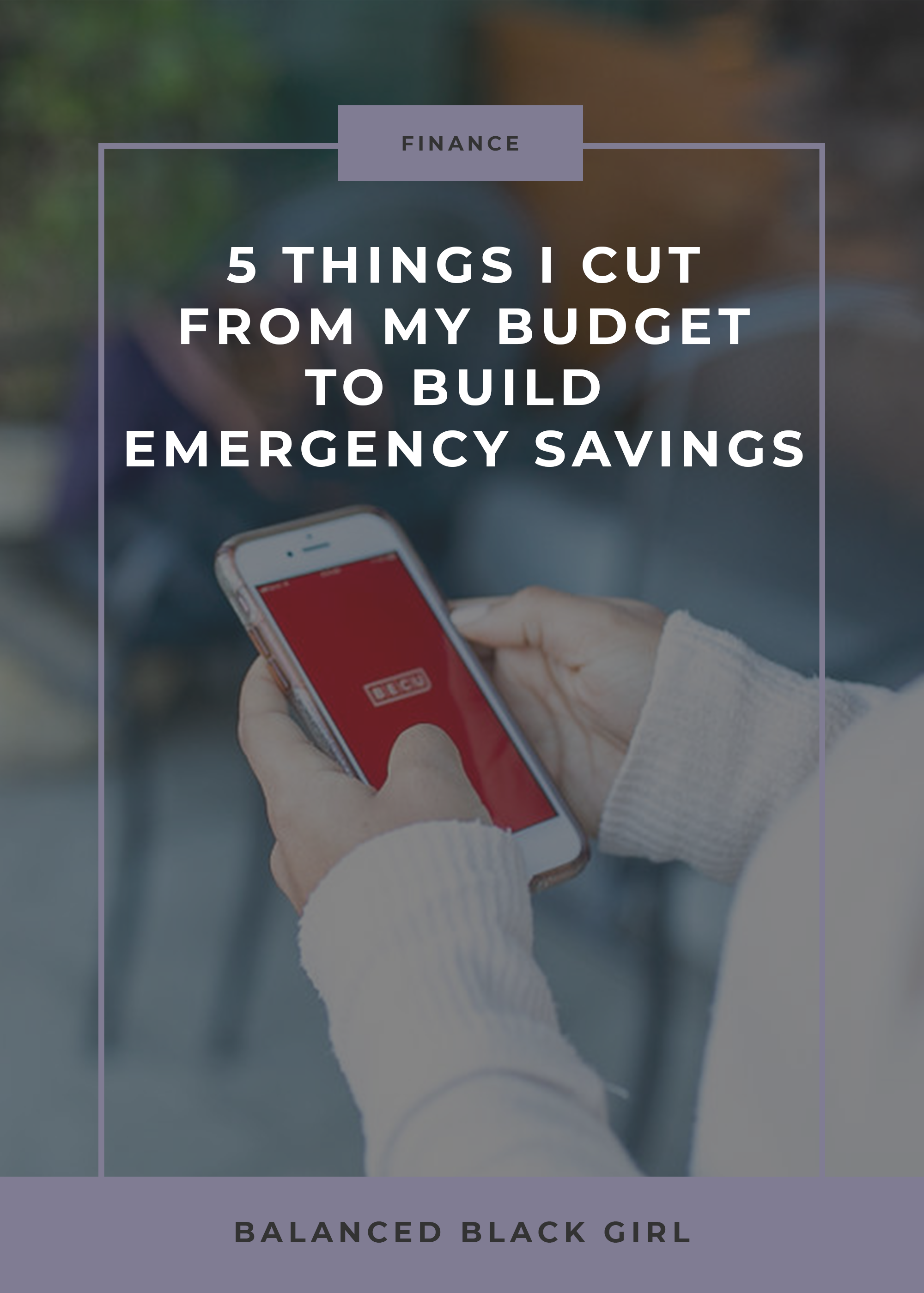 Want to boost your savings, but don't know where to start? Check out these five things you can cut from your budget to build emergency savings.